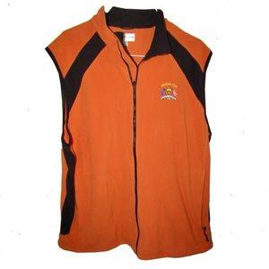 Orange Ryder Cup vest